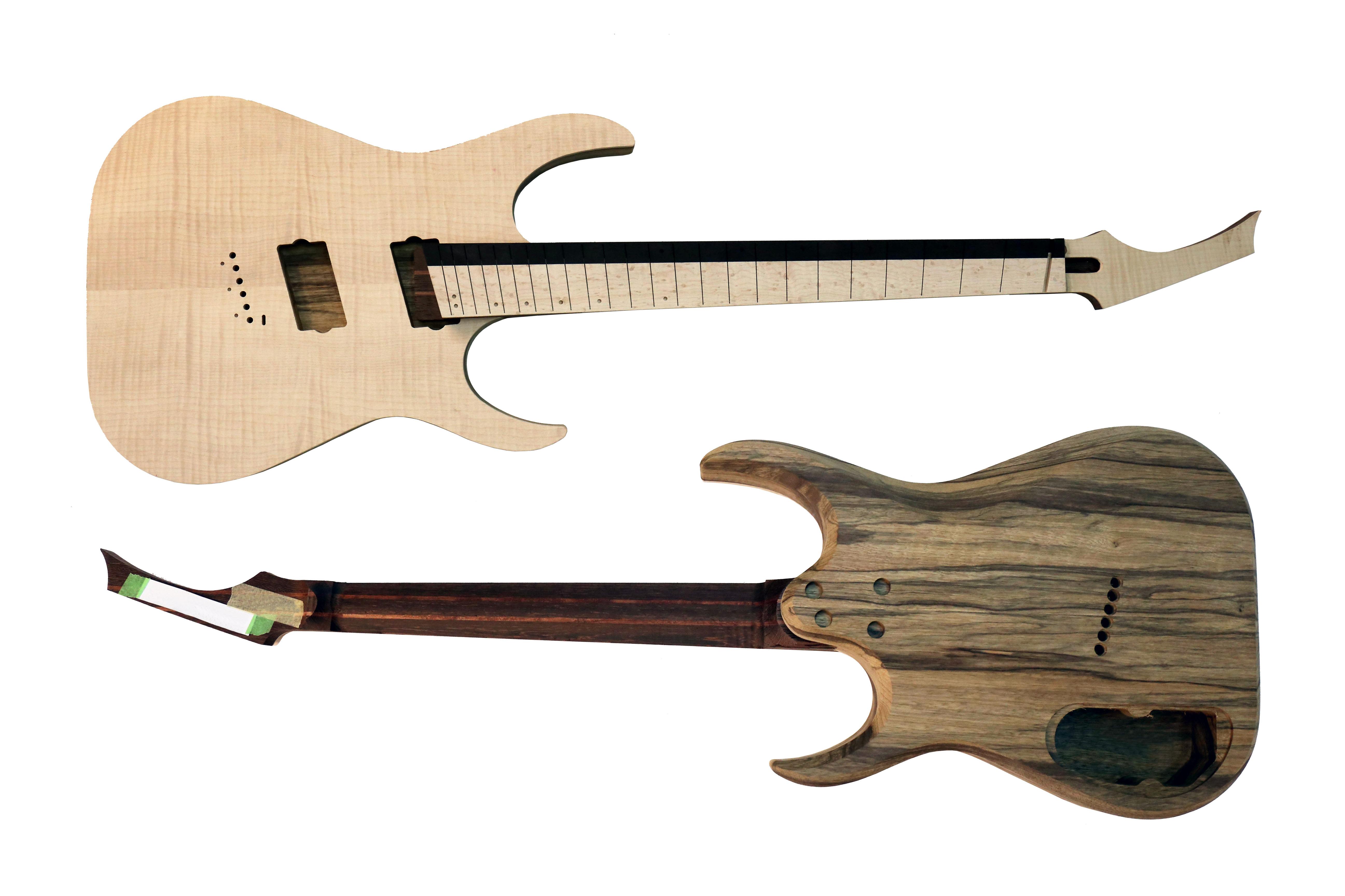 Mirage 6FF Flame Maple, 2-piece fretboard